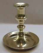 Подсвечник бронзовый старинный, Россия 19 век №4516