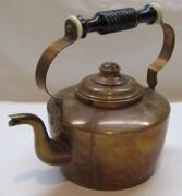 Чайник медный старинный, Европа 20 век №4545