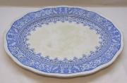 Блюдо старинное, фарфор, русский стиль, Россия 19 век №4461