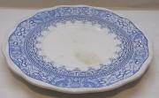 Блюдо старинное, тарелка, русский стиль, 19 век №4463