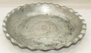 Блюдо старинное, тарелка медная, Кавказ 18-19 век №4468