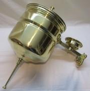 Умывальник старинный из латуни, на 6 литров, большой №4609
