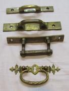 Ручки старинные мебельные №4353