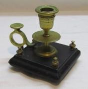Подсвечник, ночник старинный, бронза №4668