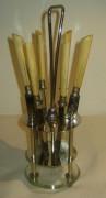 Набор ножей для фруктов на подставке, Solingen №493