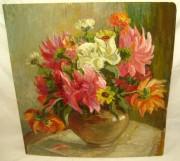 Картина «Цветы в вазе» М.В. Кожин 1918 год №488