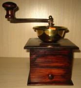 Кофемолка старинная, латунная, Россия начало 20 века №404