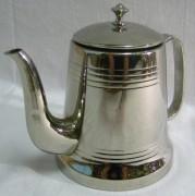Кофейник, чайник заварочный, в никеле, на 0,6 литров, Россия 20 век №210