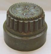 Форма для выпечки старинная, латунь, 19-20 век №4717