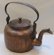 Чайник старинный из меди, на 4 л, Россия 19 век №4737
