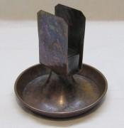 Спичечница старинная медная №4792
