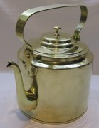 Чайник старинный из латуни на 6,5 л «Товарищество Кольчугина» 19 век №4800