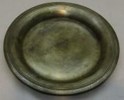 Блюдце, тарелочка старинная «А. Кач» 19 век №4817