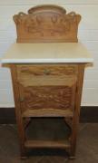 Тумбочка старинная, столик, модерн, 19 век №4825