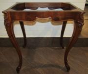 Стол старинный, столик, орех, 19 век №4688