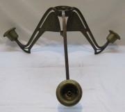 Люстра старинная, деталь, модерн 20 век №4728