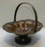 Конфетница старинная, вазочка «Ксимантовский» Россия 19 век №4750