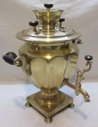Самовар старинный коллекционный на 2 л «Маликов» 19 век №1079