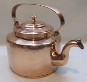 Чайник старинный медный на 4 л, Россия 19 век №4839
