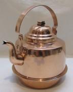 Чайник старинный медный на 2 литра №4887