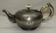 Кофейник, старинный заварочный чайник, Фраже, «Fraget» Варшава 19 век №4888