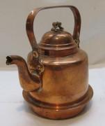 Чайник медный на 1 литр, Швеция 20 век №4894