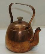 Чайник маленький из меди, Португалия 20 век №4898