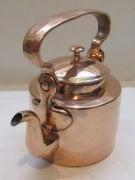 Чайник старинный медный на 1 л, Россия 19 век №4924
