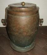 Бак огромный старинный, на 90 литров, «Апарин» 19 век №4826