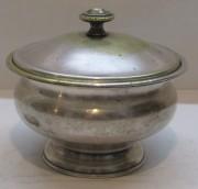 Сахарница старинная, вазочка «Br. Buch» Варшава 19 век №5006