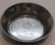 Блюдце старинное, капельник, «Любимовой» 19 век №5027