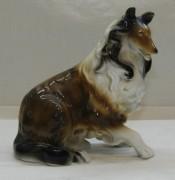 Фигура старинная, статуэтка, «Собака. Колли», фарфор, Германия 20 век №4970