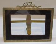 Фоторамка старинная, бронза, 19 век №4977