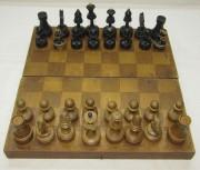 Шахматы советские, клеймо 1956 год №5066