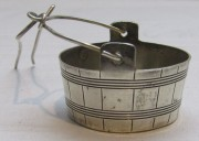 Ситечко старинное, серебро 950 пр, Франция 19 век №5089
