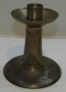 Подсвечник старинный из томпака №5112