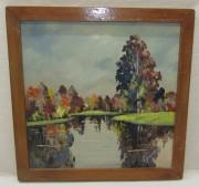 Картина «Павловск. Розовый пруд» 20 век №5318