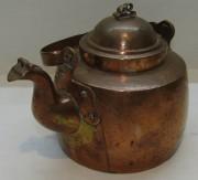 Чайник медный старинный на 2 л №5512