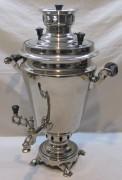 Самовар угольный «рюмка», на 4 л, «Тула» 1952 год №1143