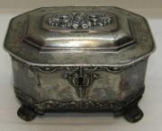 Шкатулка старинная, сахарница, «Norblin» Варшава 1850 год №5587