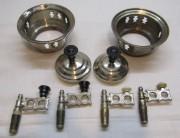 Детали к угольному самовару, конфорка, кран, колпачок №5648