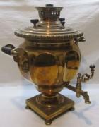 Самовар старинный «ваза», томпак, «Маликов» 19 век №1161
