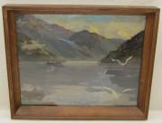 Картина «Пейзаж» оргалит, масло «Акцинов» №5458