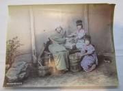 Фотография старинная, фото большая, Япония 19-20 век №5433