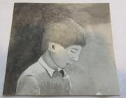 Картинка, рисунок «Мальчик» акварель «Андреев Н.Ф.» №5351
