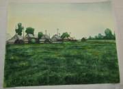 Картинка, рисунок, картина «Дача. Природа» акварель «Андреев Н.Ф.» №5373