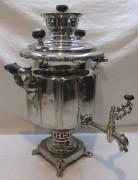 Самовар старинный на дровах «фонарь», на 5 л, «ТПЗ» 1920-е годы №1201