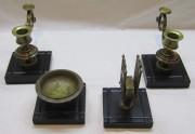 Письменный набор старинный бронза, мрамор №6093