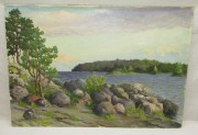 Картина «Сартавала» картон, масло, 1982 год №6218