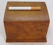 Шкатулка для сигарет, карельская береза №6314